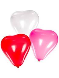 «<b>Шары</b> воздушные сердечки,красные, белые 10шт ...