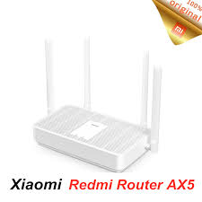 New <b>Xiaomi Redmi</b> Router <b>AX5 Wifi</b> 6 2.4G/5.0GHz dual Frequency ...