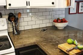 Kitchen Tile Countertop How To Install A Subway Tile Kitchen Backsplash