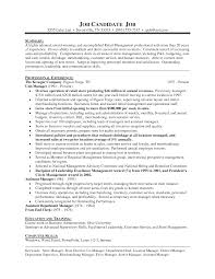 buyer resume profile