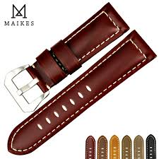 MAIKES <b>New</b> design watchbands for Fossil <b>22 24 26mm</b> vintage ...