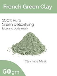 Generic <b>French Green Clay</b> for Face Pack (50gm): Amazon.in: Beauty