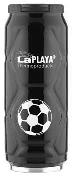 Купить <b>Термокружка LaPlaya Football can</b> (0,5 л) black по низкой ...