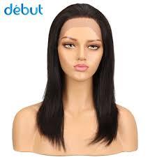 <b>Debut</b> Remy Brazilian <b>Lace Front Human</b> Hair Wigs Silky Straight ...
