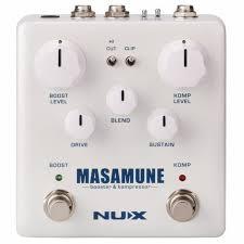 NUX <b>NUX Masamune Booster &</b> Kompressor Pedal vinyl at Juno ...