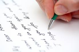 Image result for written letter