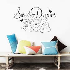 Nursery Decor <b>Winnie</b> the <b>Pooh Vinyl</b> Wall Sticker Baby <b>Sweet</b> ...