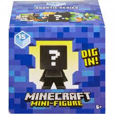 Мини-<b>фигурка</b> в непрозрачной упаковке (Сюрприз) <b>Minecraft</b> FXT80