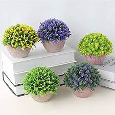 Vosarea <b>Simulated Artificial Potted Artificial Faux Fake Plants</b> for ...