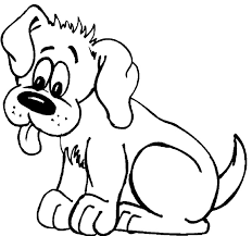 Small Picture Cute Dog Coloring Page Animals and Pets Pinterest Dog