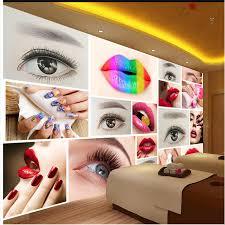 <b>beibehang Custom any size</b> wallpaper mural fashion beauty salon ...