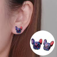 Oil Stud Earrings - Shuangshuo Official Store - <b>AliExpress</b>
