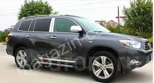 <b>Хромированные молдинги на</b> двери Toyota Highlander 2007-2010