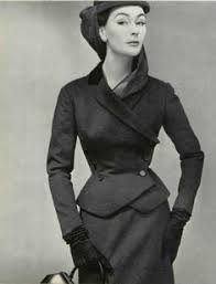 "Christian Dior 1954 <b>Rodier</b>, Photo Gene Fenn | Fashion house "" Dior ..."