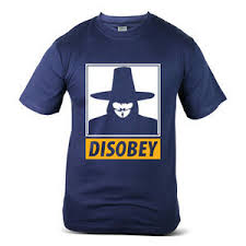 250-NV <b>Anonymous</b> V For Vendetta <b>Disobey Obey</b> Hackers Navy ...