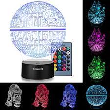Amazon.com: <b>3D</b> Illusion <b>Star Wars</b> Night Light, Three Pattern and 7 ...