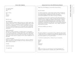 How To Write Cover Letter Via Email Templates