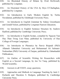 steps to a ap english language by barbara l murphy estelle introductin to english sentence structure by andrew radford published by cambridge university press 105