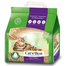 <b>Наполнитель</b> для кошачьего туалета <b>Cat's Best Smart</b> Pellets, 5 кг ...