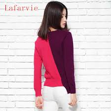 <b>Lafarvie 2019</b> womens winter Cashmere sweaters and auntmun ...