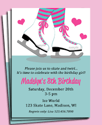 ice skating party invitations theruntime com ice skating party invitations as an additional inspiration to create remarkable party invitation 221120162
