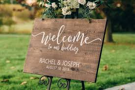 """Welcome to Our <b>Wedding</b>"" Sign – ApkBridal"
