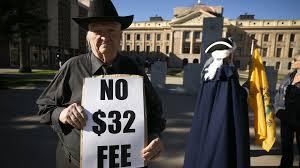 How Arizona Department of Transportation set <b>new</b> car registration fee