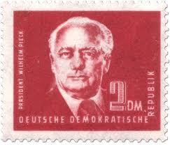 """Briefmarke: """"Wilhelm Pieck 2 DM"""""""