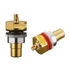 <b>Viborg</b> Hifi RCA Sockets Terminal Chassis Pure Copper Gold ...