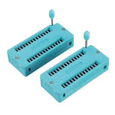 Genuine SP™ <b>2pcs IC Lock</b> Seat Zif Socket Test Universal zif ...