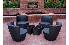 six piece stackable all weather modern outdoor balcony patio furniture set balcony outdoor furniture