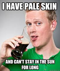 i have pale skin and can't stay in the sun for long - Extremely ... via Relatably.com