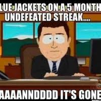 Columbus Blue Jackets Memes via Relatably.com