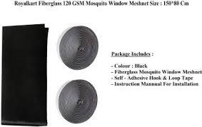 Royalkart High Quality Black <b>Mosquito</b> Mesh Net for Doors and ...