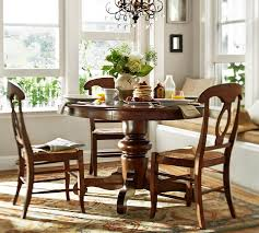 kitchen pedestal dining table set: tivoli fixed pedestal table amp napoleon chair  piece dining set pottery barn