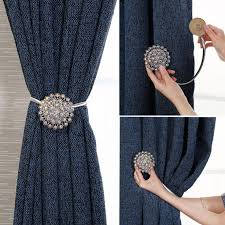 Crystal Curtain Straps <b>Creative</b> European Decorative Curtain Buckle ...