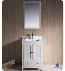 traditional style antique white bathroom:  fresca oxford  bath vanity
