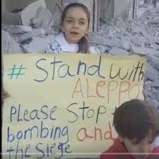Afbeeldingsresultaat voor Bana uit Aleppo fake