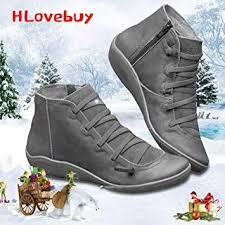 HLovebuy 2019 <b>New</b> Arch Support Boots, <b>Women's Autumn</b>