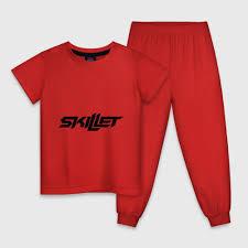 Детские футболки <b>Skillet</b> c принтом | Купить Детские футболки с ...