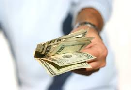 Image result for photo of giving money