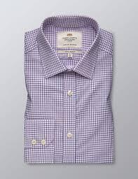 Easy Iron <b>Mini</b> Multi Check Men's Extra <b>Slim Fit</b> Shirt with Semi ...