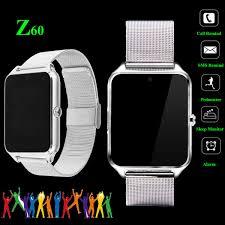 <b>Z60</b> Bluetooth <b>Smart Watch</b> Phone SIM GSM For Android IOS ...