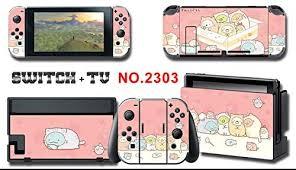 Nintendo <b>Switch</b> Themed Console Skins w/ Screen Protector - <b>Cute</b> ...
