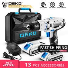 Купите cordless drill <b>deko</b> онлайн в приложении AliExpress ...