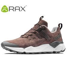 RAX <b>2017 New Men's</b> Suede Leather Waterproof Cushioning <b>Hiking</b> ...