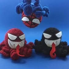 Spider-<b>Man</b> vs carnage and venom inspired crochet <b>octopus</b> | Etsy ...
