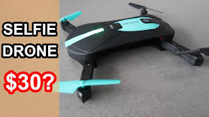JY018 <b>Foldable</b> Selfie Drone Review - YouTube