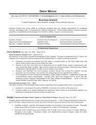 Reporting Analyst Resume Sample  resume samples in sample resume     Template net Entry Level Business Analyst Resume