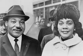 a month after selma martin luther king es on boston new martin and coretta